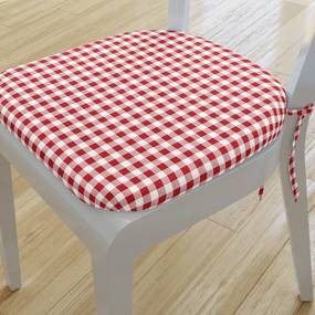 Goldea pernă pentru scaun rotundă din bumbac 39x37cm - model 804 39 x 37 cm