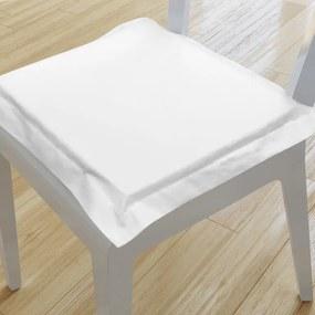 Goldea pernă pentru scaun cu ornamente 38x38 cm - alb 38 x 38 cm