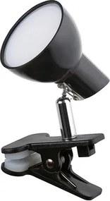Veioza LED 5W negru Noah Rabalux 1478