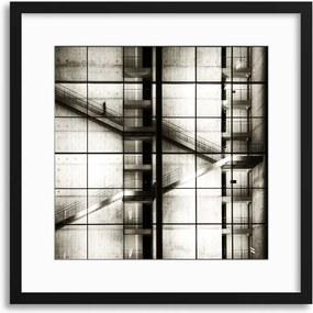 Imagine în cadru - Berlin by Mario Benz 40x40 cm