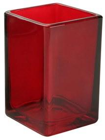 Pahar pentru baie Versa Bargo rosu
