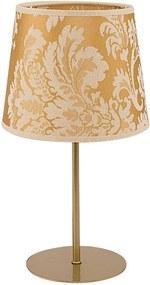 Lampă de masă SOPRANO 1xE27/40W/230V auriu