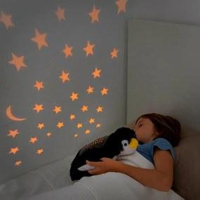 Jucărie de pluș cu proiector LED InnovaGoods Penguin
