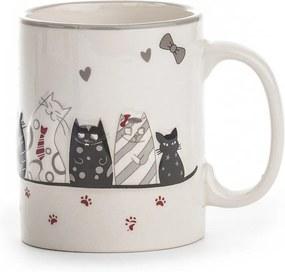 Cană ceramică Cat, 370 ml
