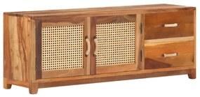 288096 vidaXL Comodă TV, 120 x 30 x 45 cm, lemn masiv reciclat