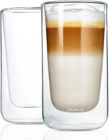 Set 2 buc. căni termice pentru latte machiato 320ml NERO - Blomus