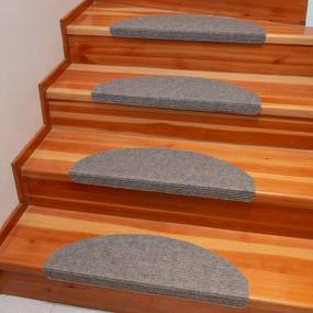 Preş pentru scări QUICKSTEP semicerc bej set 10 buc