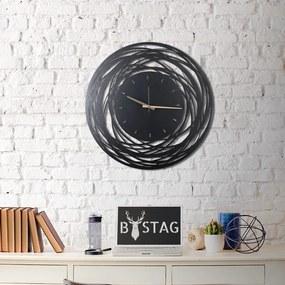 Ceas din metal pentru perete Ball, 70 x 70 cm