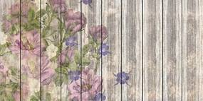 Komar Fototapet - Vintage Rose 100x250 cm