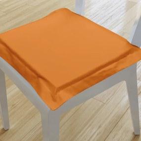 Goldea pernă pentru scaun cu ornamente 38x38 cm - portocaliu 38 x 38 cm