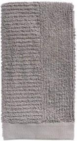 Prosop mâini din bumbac Zone Classic, 50 x 100 cm, gri maro