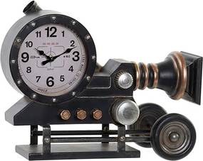 Ceas Antique Camera din metal 28.5 cm