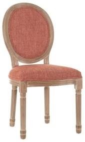 Scaun dining portocaliu Chair Medallion Salmon