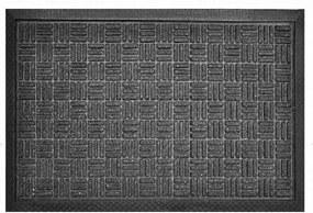 Covoraș interior din cauciuc SUPREME antracit 45 x 75 cm