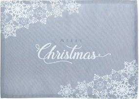 Set 2 suporturi farfurie Mike & Co. NEW YORK Honey Christmas, 33 x 45 cm, gri
