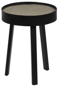 246087 vidaXL Masă de cafea, blat de beton, 40 x 55 cm