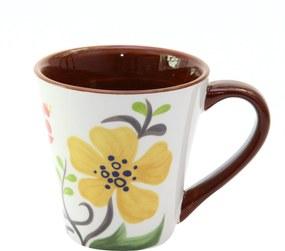 Cana Floral din ceramica maro 10 cm