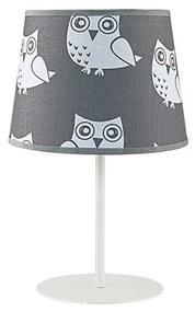 Lampă de masă copii OWL 1xE14/40W/230V