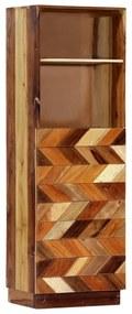 282733 vidaXL Dulap înalt, 40 x 32 x 122 cm, lemn masiv reciclat
