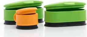 Set 3 sisteme de închidere pentru pungi alimente InnovaGoods Tap it Tap