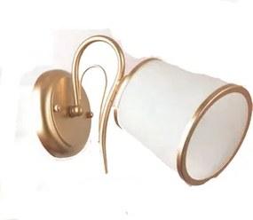 Aplica 1xE27 auriu Corason Klausen KL-6829