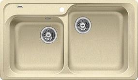 Chiuveta Granit Blanco Classic 8 Sampanie 860 x 500 mm