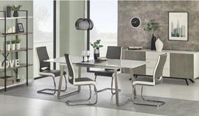THOMAS masă extensibilă alb/beton