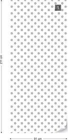 GLIX Tapet netesute pe usă - Modern Pattern