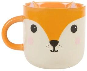 Cană din ceramică Sass & Belle Bohemian Kawaii Fox, 450 ml