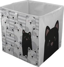 Home cutie colorata de depozitat Butter Kings Black Cat