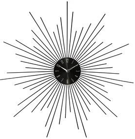 Ceas de perete JJA Fence negru