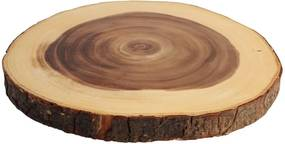 Tavă pentru servire din lemn T&G Woodware Bark