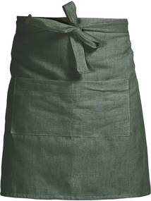 Șorț de bucătărie Linen Couture Delantal Green Moss, verde