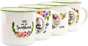 Cana Flowers din ceramica 12 cm - 4 modele la alegere