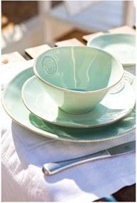 Farfurie din ceramică pentru supă Costa Nova, Ø 25 cm, turcoaz