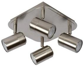 Lucide 26957/20/12 - Spot LED LENNERT LED/4x5W/230V crom mat