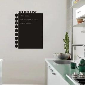 Sticker perete Tabla de scris To Do List