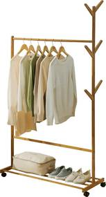 Stander haine, bambus, lăţime 100 cm, VIKIR TYP 3
