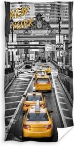 Prosop New York Yellow Cabs, 70 x 140 cm