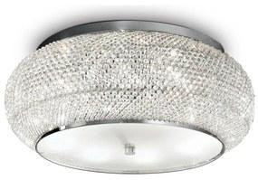 Plafonieră de cristal Ideal Lux PASHA 10×E14/40W/230V