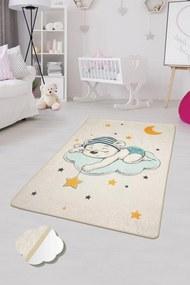 Covor pentru copii Sleep Ecru - 140 x 190 cm