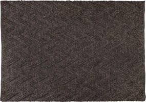 Covor din lana si vascoza Punja Graphite ZUIVER - grafit
