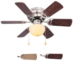 Globo 03802 - Ventilator de tavan UGO 1xE27/60W/230V