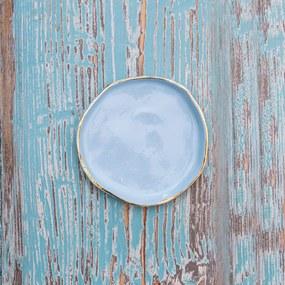 Farfurie Handmade Manifest Albastru 12cm