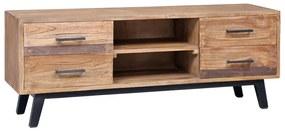 285312 vidaXL Comodă TV, 120 x 30 x 45 cm, lemn masiv de tec