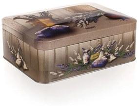 Cutie din metal-box pentru ceai Lavender, BANQUET