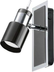 Eglo 30832 - LED lampă spot DAVIDA 1 1xGU10/5W/230V negru