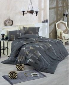 Lenjerie de pat cu cearșaf Trace, 200 x 220 cm