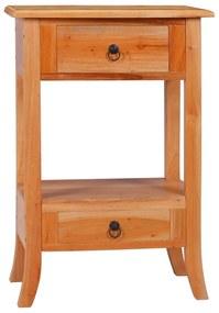 288876 vidaXL Masă consolă, 50 x 30 x 75 cm, lemn masiv de mahon