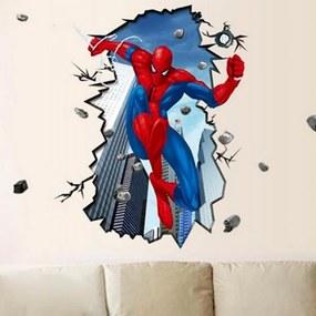 Sticker perete Spiderman 3D - Disney Marvel